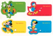 Mickey Labels
